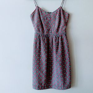 JCrew Women's Geo Design Dress Size 0